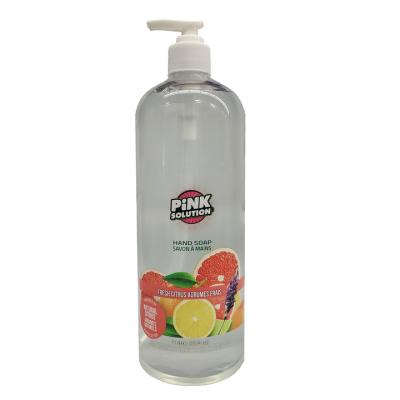 Hand Soap - FRESH CITRUS - Pack of 12 x 1L