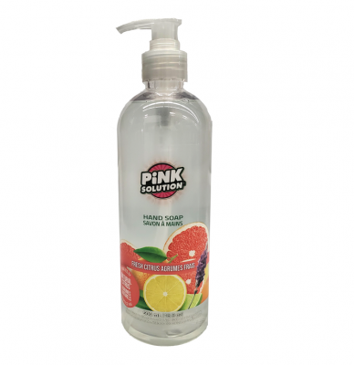 Hand Soap - FRESH CITRUS - (Pack of 12 x 500ml)