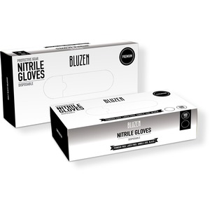 XL Non-Medical Nitrile Gloves - Black - Bluzen Premium - Pack Of