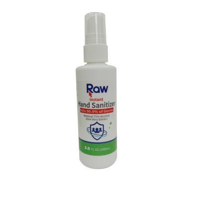 Hand Sanitizer Spray - Raw Brand - 100ml - Pack of 20